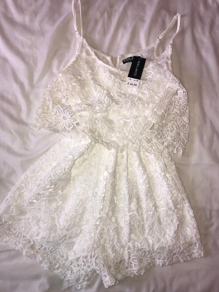 Brand new playsuit size 8