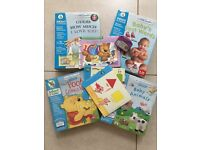 LeapFrog Little Touch Library books and cartridges