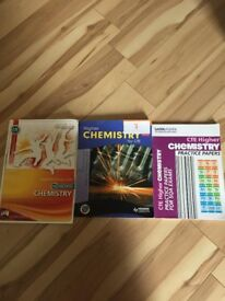 3 Chemistry pastpapers and textbooks