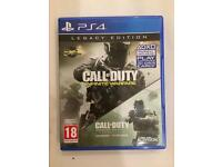 Call of Duty Infinite Warfare only / PS4 Game