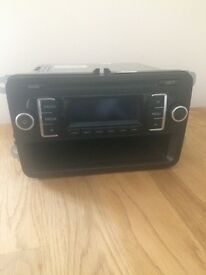 Factory fitted VW CD stereo from 2012 Transporter