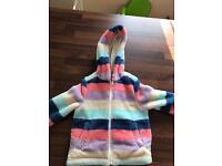 John Lewis girls coat/hoody age 3