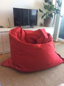 Red MADE Bean Bag