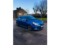 2012 12 Vauxhall Corsa 1.6 Turbo VXR Arden Blue **FACELIFT** LOW MILEAGE 59K **HPI CLEAR**