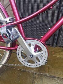 Electra Loft step thru city bike
