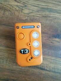 Crowcon t3 gas detector