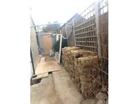 Old - reclaimed stocks bricks for sale. 300+, some half's. ready to be collected.