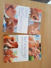 Reflexology and acupressure handbooks
