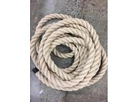 32mm synthetic decking rope x 5m. Garden, boating, outdoor rope