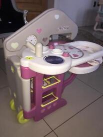 Baby nurse changing unit