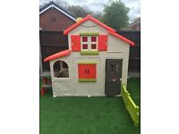 Smoby Duplex 2 storey playhouse