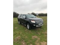 PRICE REDUCED- Ford ranger limited, 2.2 manual, double cab, 85100 miles
