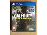 Call of duty infinite warfare PS4 (newest call of duty)