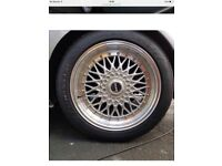 4 alloy wheels with 205/50R 17 tyres all very good condition almost new tyres