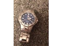 Genuine Zeitner aqua sport watch. 100m water resistant. Battery required.