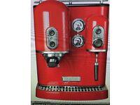 KitchenAid Artisan Espresso Maker, model: 5KES100BAC - Excellent Condition.