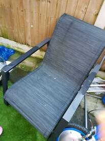 New 2 garden chair
