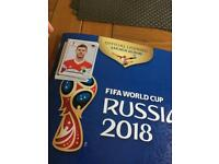 Panini World Cup stickers Russia 2018 swaps
