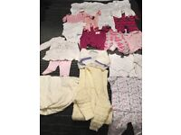 Baby girl 0-3 month clothes