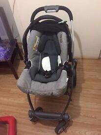 Baby pushchair & car seat