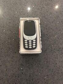 Brand new Nokia 3310 Unlocked Dual Sim
