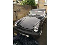 Beautiful Classic MG Midget Black 1979 - £3450.00 ono