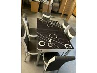New Arrival Branded Dining Table With 6 Chairs Order Now