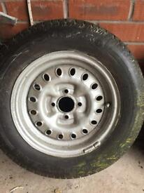 Triumph spitfire o e wheels and tyres