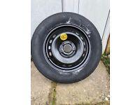 "New Nissan Qashqui emergency spare tyre 16"""