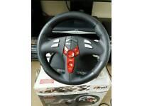 PlayStation steering wheel