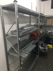High quality metal shelving units