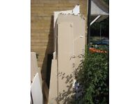 Free plasterboard and wood to collect