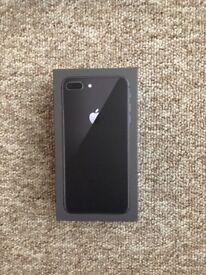 iPhone 8 Plus 64gb space grey Unlocked