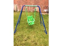 Toddlers swing in great condition hardly been used collection only as I don't drive