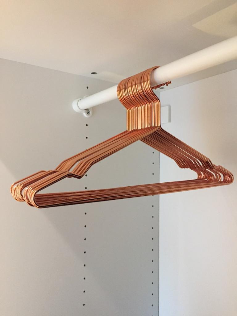 Set of 25 HAY copper hangers