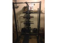 Ironmaster IM1500 Half Rack, Bench and Weights