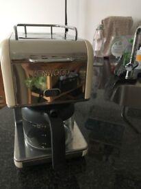 Kenwood Filter coffee machine (cream colour)