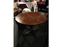 Round Wooden Dining Tables (Pub)