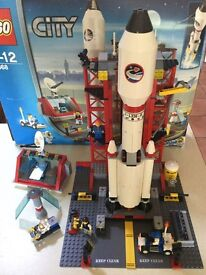 Lego City 3368 Space Centre 100% Complete Boxed with Instructions