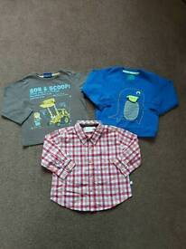 Boys 12-18 month bundle of tops