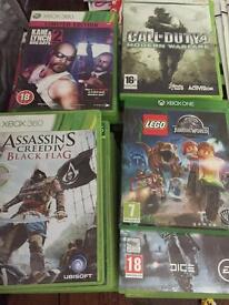 24 Xbox 360 games see below for prices