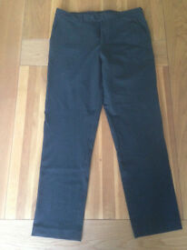 French Connection Smart Men's Charcoal Trousers (36R) (never worn)