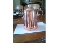 """marks & spensers collection """"harvest"""" copper/coffee/pot"""