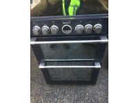 BLACK HOTPOINT ULTIMA 60cm ELECTRIC COOKER , EXCELLENT CONDITION COMES WITH 4 MONTHS WARRANTY