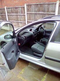 Peugeot 206 SW £450