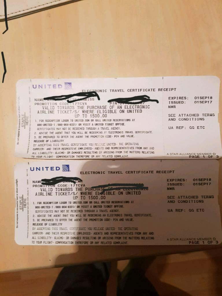 Flight Vouchers In Basildon Essex Gumtree