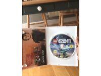 Wii game Lego Star Wars 3 the clone wars