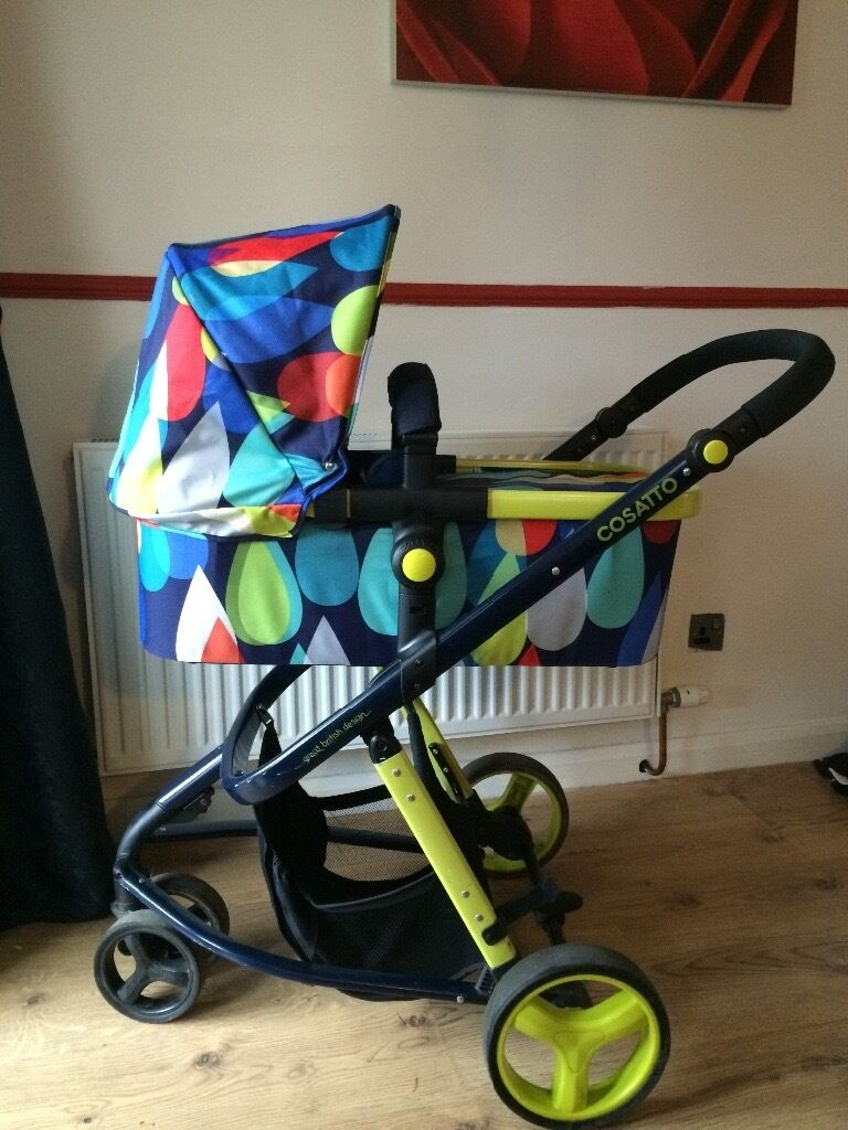 Cosatto giggle 2 pram and pushchair,