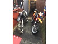 Derbi senda off road crosser full size