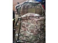 Camo MOLLE pack